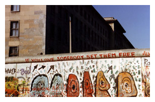Berlin Wall Courtesy of Dave Guerra